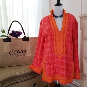 Tory Burch Terry Cloth Swim Cover Up size M